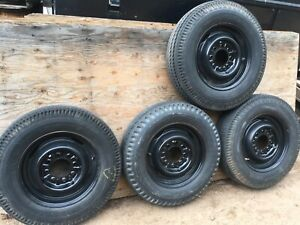 Kelsey Hayes 17 5 Rims With Tires