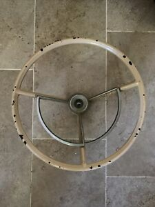 1967 1972 Ford Truck F100 F250 Steering Wheel W Horn Ring 1960 1963 Falcon