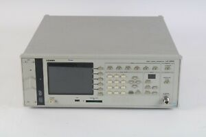 Leader Isdb t Signal Generator Lg3802 With Opt 70 And Opt 72