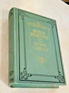 Bible Readings for the Home Circle HB 1928 Pacific Press Pub. Assn. $14.99