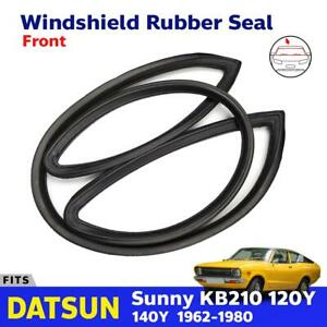 For Datsun Sunny Kb210 120y 2d Coupe Front Windshield Rubber Weatherstrip New Go