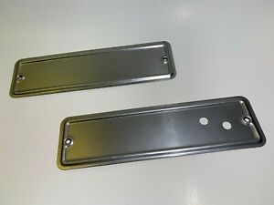 1935 1936 Ford Pickup Truck Windshield Hinge Wiper Motor Access Covers L R