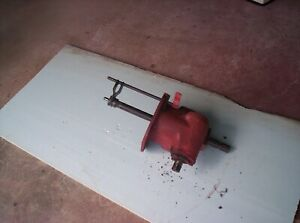 Massey Harris Pony Tractor Rear Pto Shaft And Belt Pulley Shaft