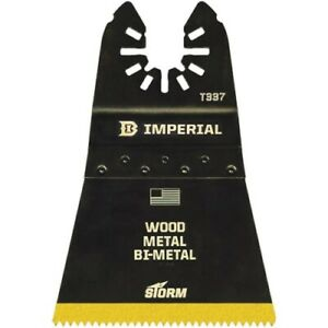 Imperial Blades One Fit Wood nails Titanium Storm Oscillating Blade