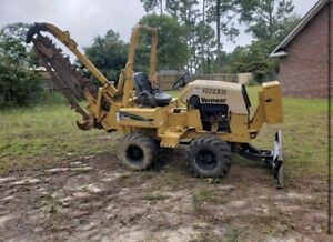 Vermeer Rt450 Ride On Trencher 60inch Max Depth