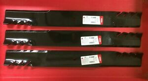 Set 3 Gator Blades For Bush Hog Ath720 72 Grooming Finish Mowers Replace 88773