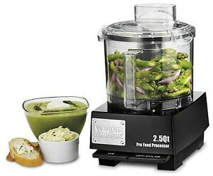 Waring Wfp11sw 2 5 Quart Food Processor With S blade And Whipping Disc