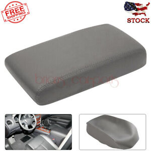 Fit For Nissan Pathfinder 2005 2012 Gray Center Console Lid Armrest Cover New