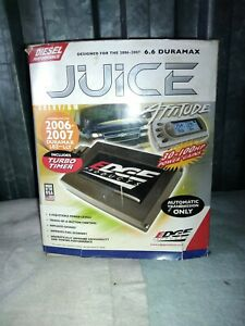 Edge Juice With Attitude For 2006 2007chevy 6 6l Duramax