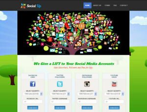 Social Media Marketing Reseller Website 100 Outsourced Business In A Box