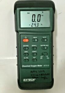 Extech 407510 Dissolved Oxygen Meter No Probe Or Power Supply