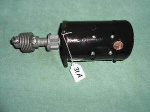 1928 1929 1930 1931 Nice Model A Ford Rebuilt Starter With Warranty 31a