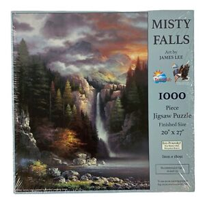 Misty Falls Jigsaw Puzzle SunsOut James Lee 1000 Pc NEW Sealed 18091 20x27 C $44.99
