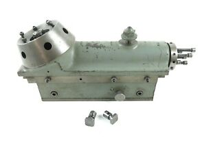 Schaublin 70 Lathe Turret Tailstock missing Lever And Lever Bracket