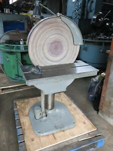 State D24 Disc Sander W Power Table Elevation