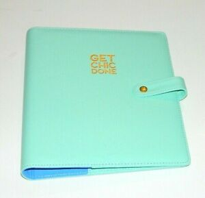 Me My Big Ideas The Happy Planner Classic Size Cover Turquoise Blue Open Box