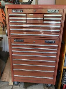 Matco Excellerator Rollaway Tool Box Top Chest