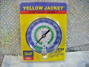 Yellow Jacket Ritchie Gauge Part 49104 3 1 8 R12 R22 R134a 30 To 350