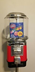 1 Beaver Red Rb16 Gumball Candy Toy Nut Vending Machine Cash Drawer 3 Yr old