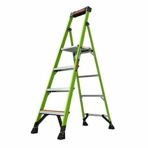 Mightylite 6 Model Ansi Type Iaa 375 Lb Rated Fiberglass Stepladder With
