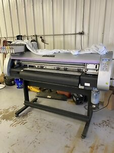 Mimaki Cjv30 100 40 Wide Format 4 Color Printer And Cutter used