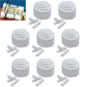 500 10000pcs Dental Disposable Cotton Rolls High Absorbent Non sterile 10 38mm