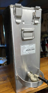 Polar Ware Stainless Commercial Heater Dispenser Cheese Soup Beverage 500e