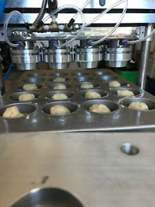 Ar 3 Inline Pie Forming Pie Press With Muffin Tray Die Set Why Pay 25 000