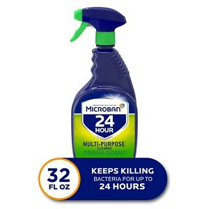 Microban 24 Hours Multi purpose And Desinfectant Cleaning 32 Oz
