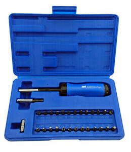 Clearance 29pc Gearless Ratchet Screwdriver Set With Bits