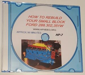 How To Rebuild Your Ford 50 289 302 351with393 Enginedvd Or Usb Flash Drive