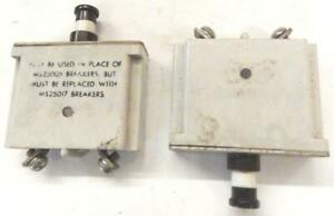 Ms25017 5 Ms25005 5 Amp Aircraft Circuit Breaker Push Pull Spencer Thermostat