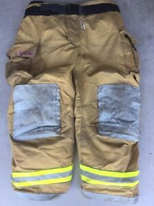 Firefighter Turnout Bunker Pants Globe 50x30 G Extreme 2008 Halloween Costume