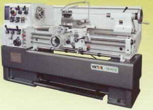 16 Swg 40 Cc Victor 1640s W special Package Engine Lathe D1 6 Camlock With 2