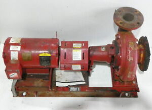 7 5hp Bell Gosset 1510 Mounted End Suction Pump 290 Gpm W 7 5hp Baldor M