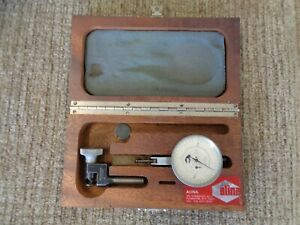 Alina M31 Dial Indicator Large Dial Swiss W Extra Attachments Holders Machinist