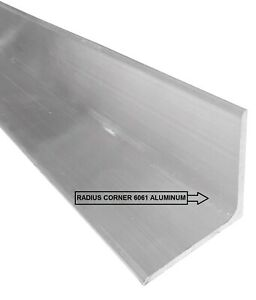 1 8 X 2 X 2 X 10 Aluminum Angle 6061 T6 Mill Stock My Special Project x