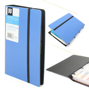 Business Name Id Credit Card Holder Book Case Keeper Organizer 180 Cards