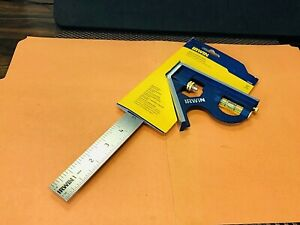 New Irwin No 1794469 Combination Square With 12 Long Stainless Steel Blade