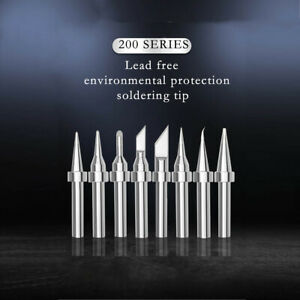 200 Series Soldering Iron Tips Set For Atten quick 3202 3100 Soldering Station
