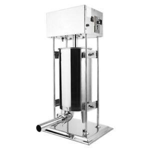 15l 33 Lb Vertical Type Stainless Steel Sausage Stuffer Machine For Commercial