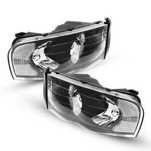 For Dodge Ram 2002 2005 Headlights Headlamps Replacement Assembly Left Right