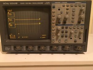 Lecroy 9304am 200 Mhz 4 Channel Oscilloscope