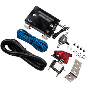 Dual Stage Electronic Adjustable Turbo Boost Controller Set W Switch Universal