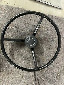 1968 Dodge Charger Steering Wheel Brown No Crack B Body 1969 Plymouth Gtx 69 68