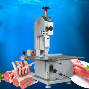 110v Commercial Electric Meat Bone Saw Frozen Meat Cutting Cutter Machine 650w