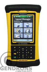 Trimble Nomad Lm80 Surveying Data Collector total Station robotic layout tds