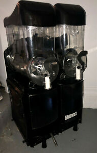Faby Double Bowl Commercial Margarita Machine