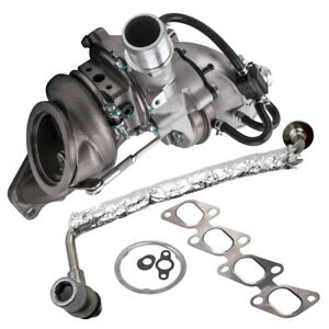 Gt1446v Turbo Charger Oil Feed Line For Chevy Cruze Sonic Traxc Ecotec 860156