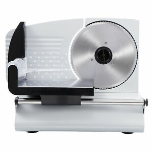 Protable Stainless Steel 7 5 Blade Electric Meat Slicer Food Cutter Kitchen
